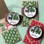 Merriest Wishes Stamp Set and Merry Tags Framelits