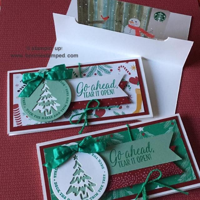 #giftcardholders#presentsandpinecones #merriestwishes #merrytags