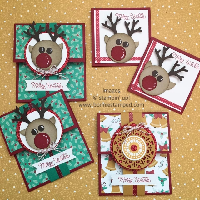 #holiday #merriestwishes #giftcardholders #notecards #punches #punchart #merrytags #circleframelits #circlepunches
