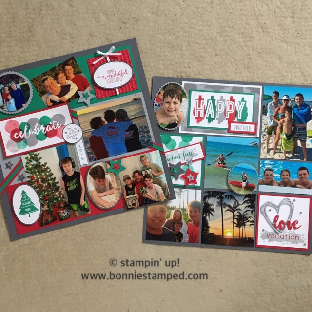 #happycelebrations #occasions2017 #stampinup #bonniestamped #celebrationduo #embossingfolders