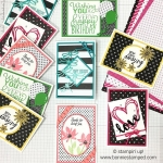 Pop of Color Stamp-a-Stack Note Card Class!