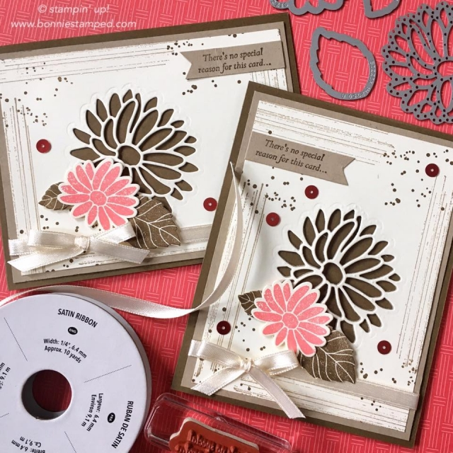 #specialreason #occasions2017 #handmadecards #bonniestamped #stampinup #cardclass #stylishstemsframelits