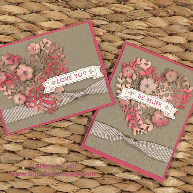 #bloominlovestampset #bloominheartthinlits #incolor #fallingpetals