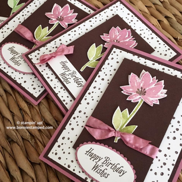 #avantgarden #sweetsugarplum #saleabration #sab2017 #bonniestamped #stampinup #ribbon #ovalframelits