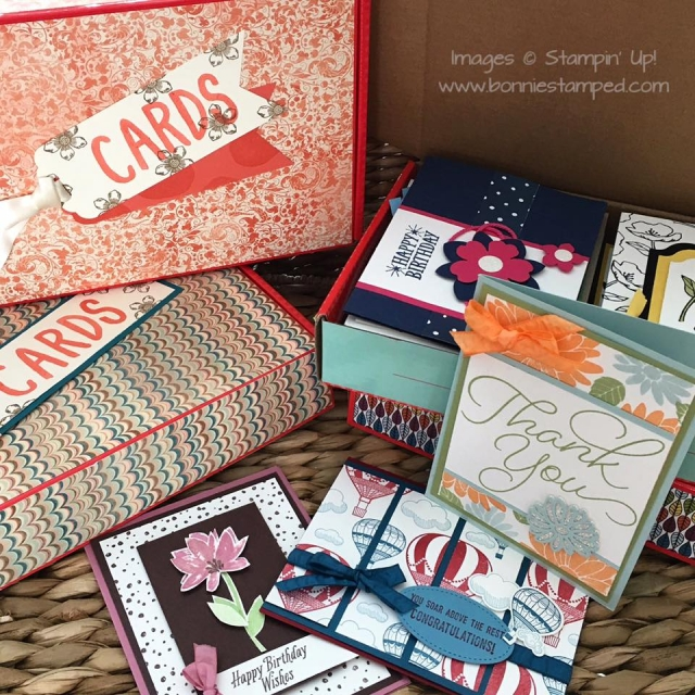 #handmadecards #bonniestamped #boxofcards #alloccasioncards