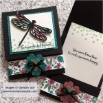 Fun Folded Dragonfly Dreams Cards