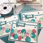 Time to Celebrate with Happy Celebrations Stamp Set and Celebrations Duo Textured Impressions Embossing Folders