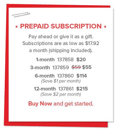#paperpumpkin #prepaidsubscriptions #bonniestamped