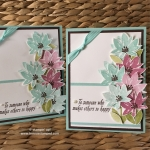 NEW Avant Garden Sale-a-bration Stamp Set