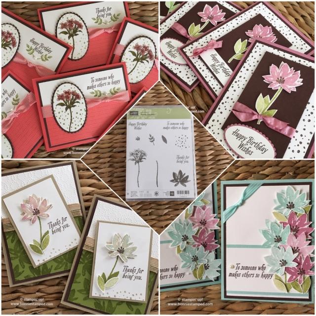 #avantgarden #saleabration #sab2017 #ruchedribbon #ovalframelits #bonniestamped #handstamped #cards