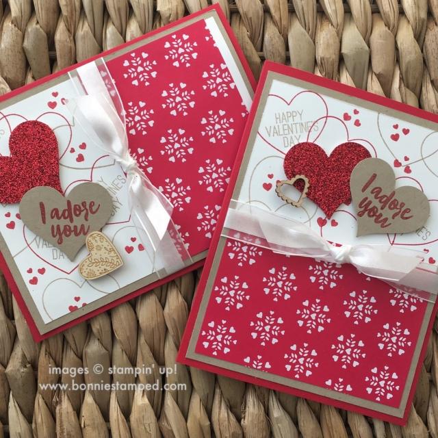 #paperpumpkin #adorningarrows #monthlykit #skiptothefun #bonniestamped #valentinesdaycards