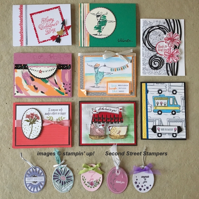 #monthlycardswap #bonniestamped #secondstreetstampers #stampinup #saleabration2017 #occasions2017