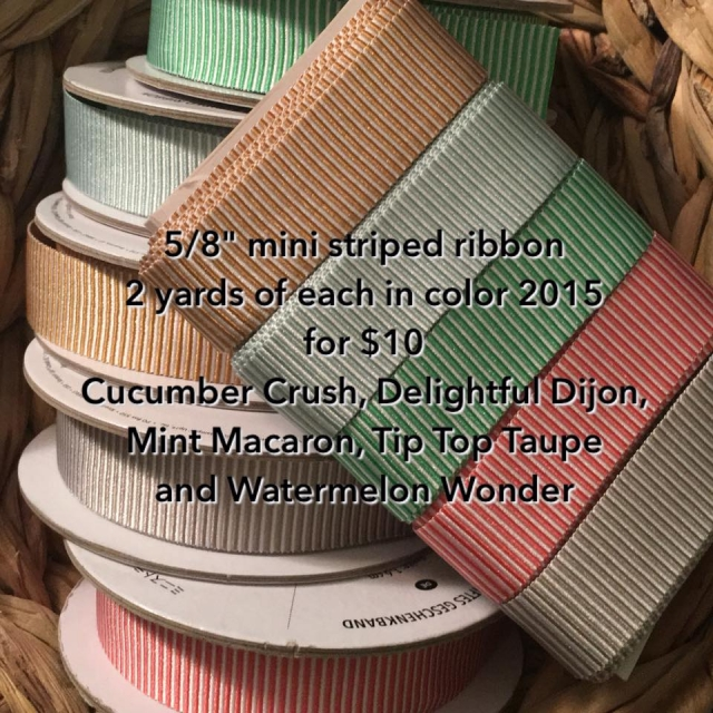 #incolorribbon #ribbonsplit #bonniestamped