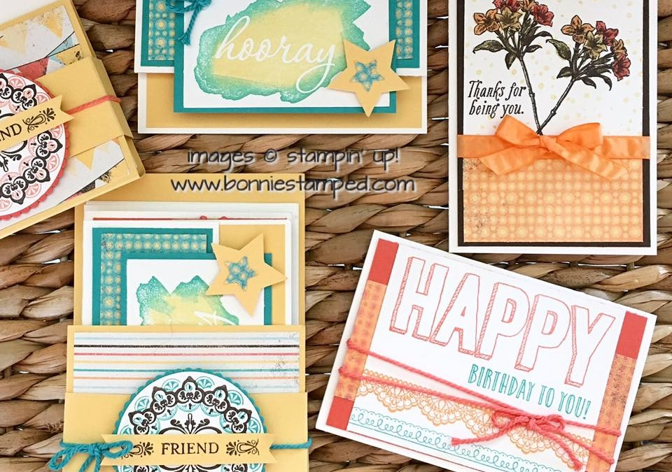 Sale-a-bration 2017 Note Card Gift Set