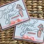 2 Sale-a-bration Stamp Sets paired with the Beautiful You Stamp Set!