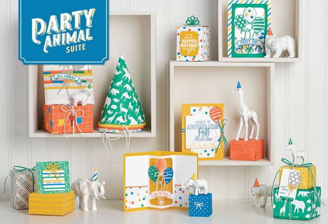 #partyanimalsuite #occasions2017 #stampinup