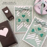 Glimmer St. Patrick's Day Clover Note Card