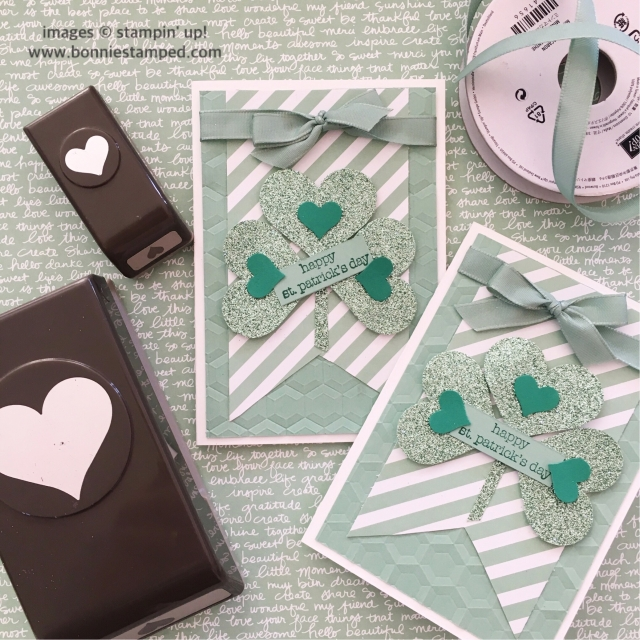 #sweetheartpunch #incolors #mintmacaron #teenytinywishes #bonniestamped