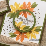 Spring has sprung with the Avant Garden Stamp Set