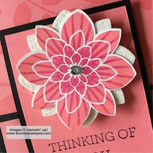 #flowermedallion #bonniestamped #stampinup #retiringproducts