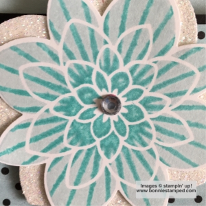 #flowermedallion #bonniestamped #retiringproduct #stampinup