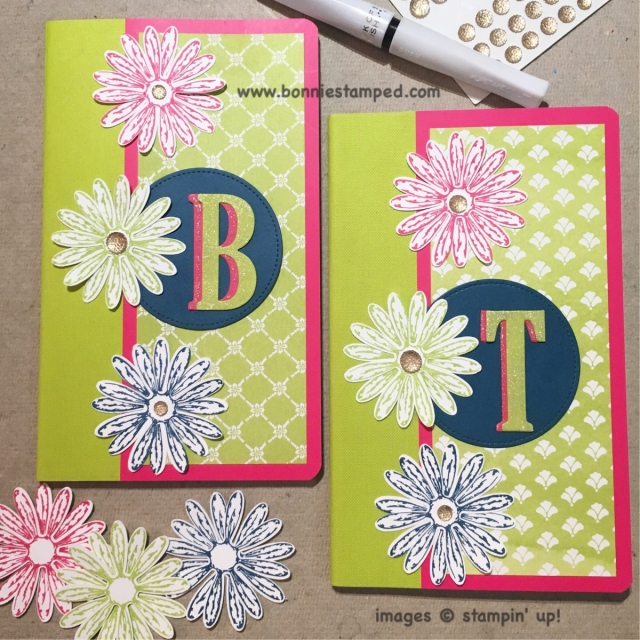 #notepad #delighfuldaisy #stamp #punch