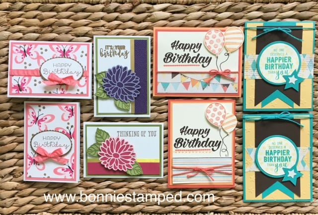 #happybirthdaycardclub #bonniestamped #stampinup #retiringproduct