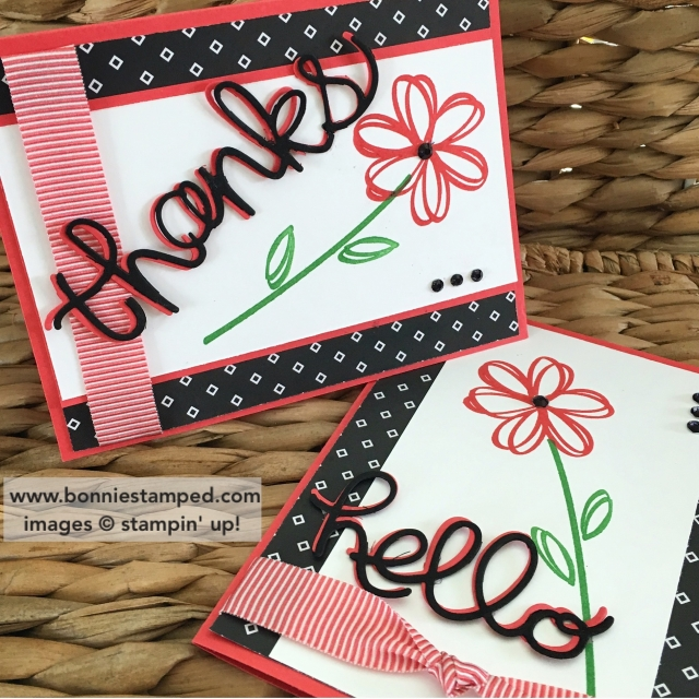 #helloyouthinlits #sunshinesayings #watermelonwonder #cucumbercrush #retiringproducts #stampinup #bonniestamped