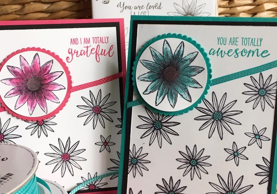RETIRING Grateful Bunch Stamp Set