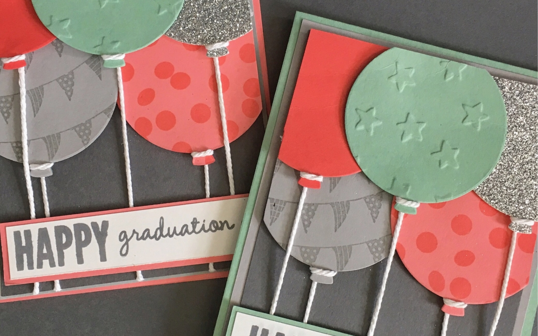 RETIRING Celebrate Today Stamp Set and Balloon Framelits