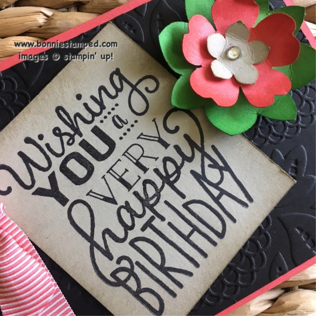 #bigonbirthdays #stampinup #retiringproducts #lovelylace #flowermedallionflower #petitepetal #pansy #punch