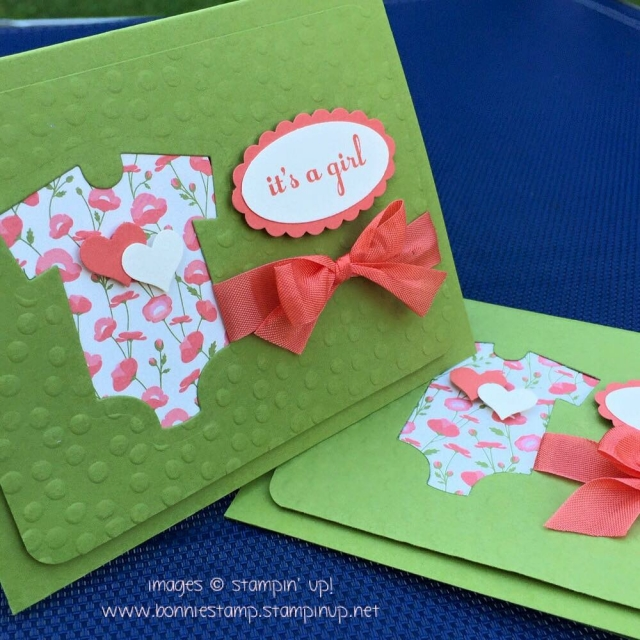 #somethingforbaby #retiringproducts #babysfirst #bonniestamped #funfoldedcards
