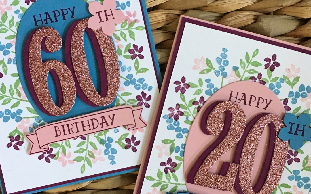 Personalize Your Cards with Stampin' Up! Product!