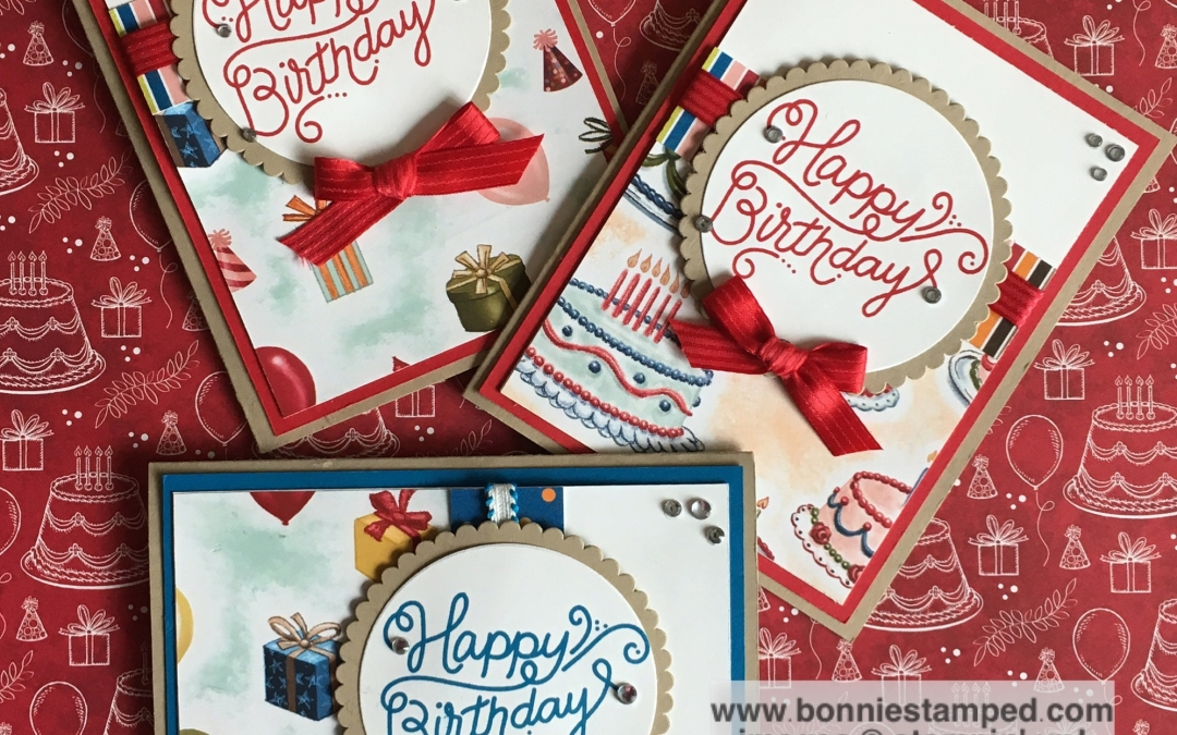 Sneak Peek featuring Birthday Memories Suite Cards!