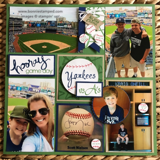 #baseball #brushworkalphabet #bonniestamped #scrapbookpages #scrapbooklayouts