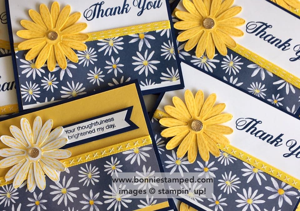 Daisy Delight for the card swap!