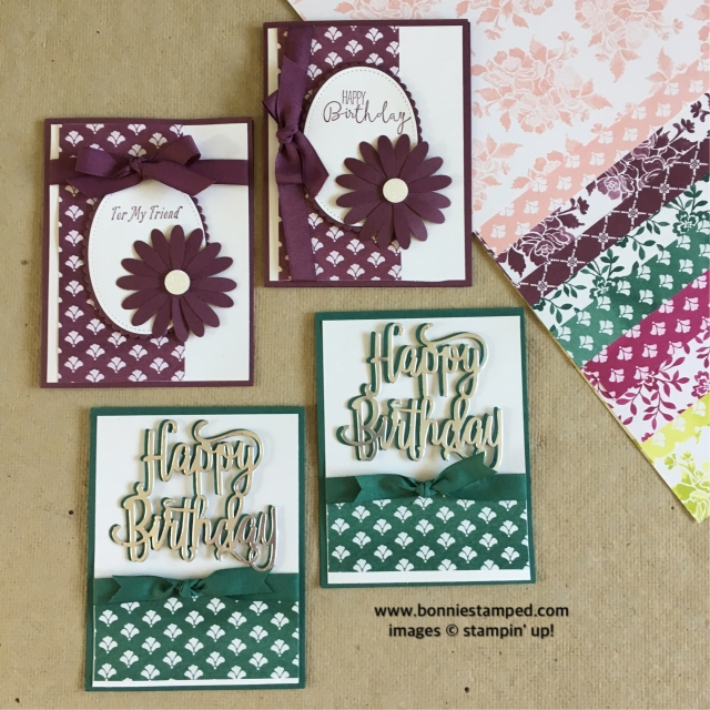 #freshfig #tranquiltide #newincolors #cards #happybithday #bonniestamped