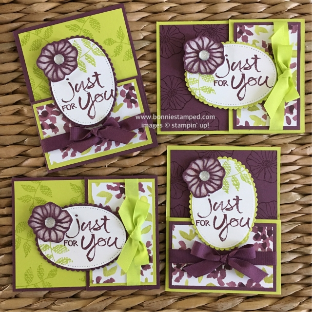 #ohsoeclectic #bonniestamped #stampinup