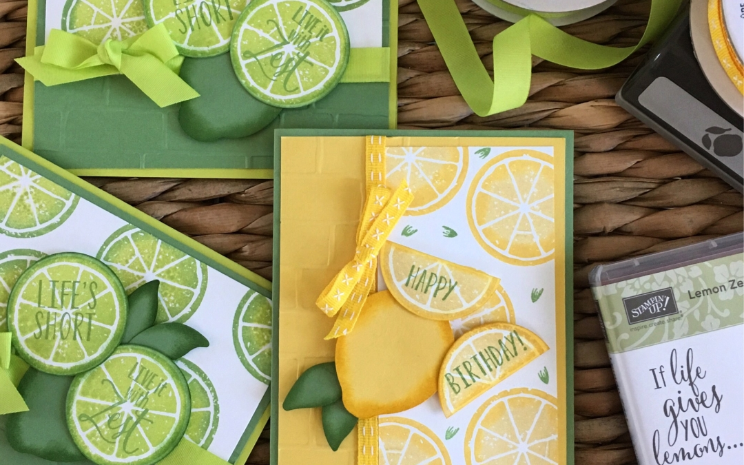 Lemon Zest Bundle Card hits the spot!
