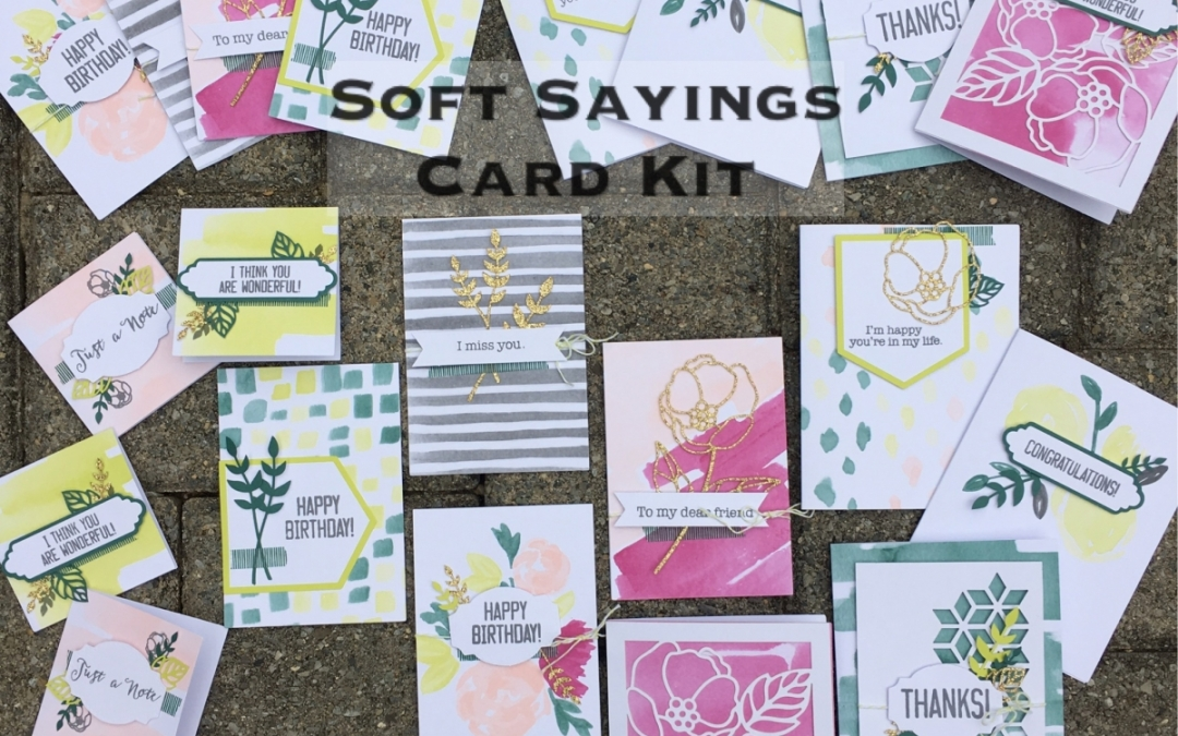 All Inclusive Card Kits made by Stamping' Up!