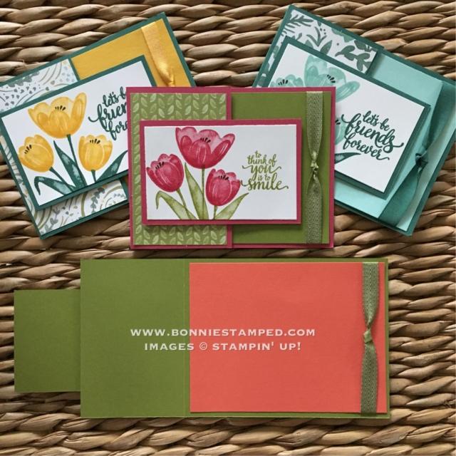#cardswap #tranquiltulios #funfoldedcard #bonniestamped