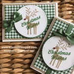 Festive Christmas Club Note Cards