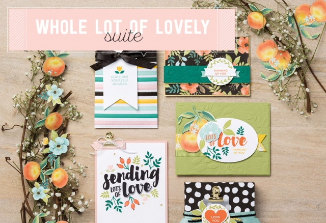 #wholelotoflovely #stampinup #bonniestamped