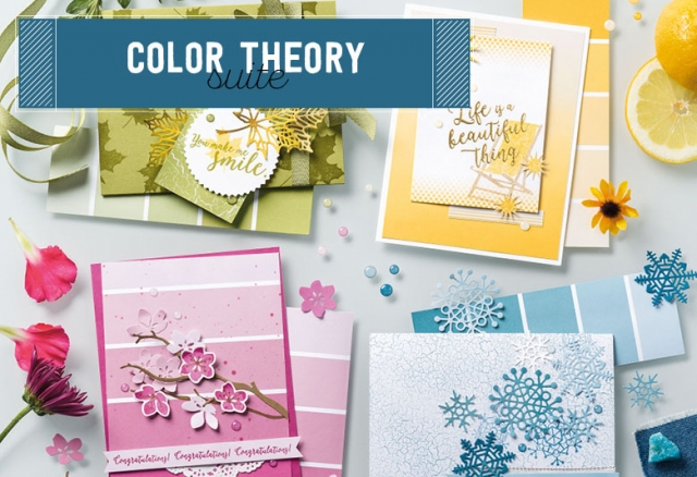 #colortheorysuite #stampinup #bonniestamped
