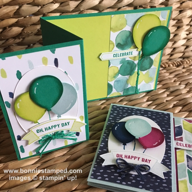 #naturallyelecticdsp #thoughtfulbanners #happybirthday #duetbannerpunch #stampinup #bonniestamped
