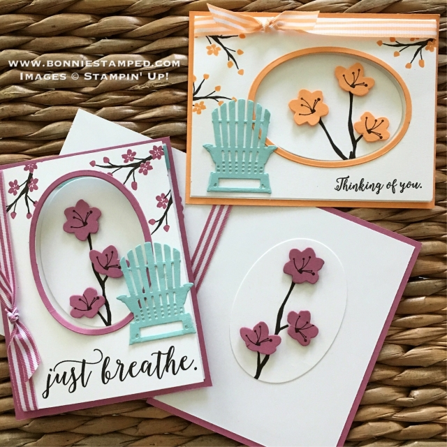 #colorfulseasonsbundle #seasonallayersthinlits #bonniestamped #stampinup