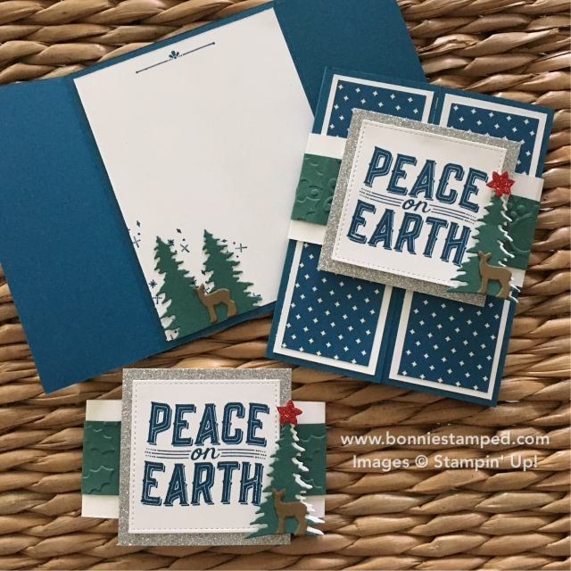#carolsofchristmas #earlyrelease #peaceonearth #stampersdozen #bonneistamped #stampinup