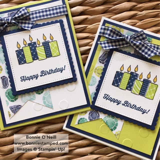 #merrypatterns #birthdaycards #bonniestamped