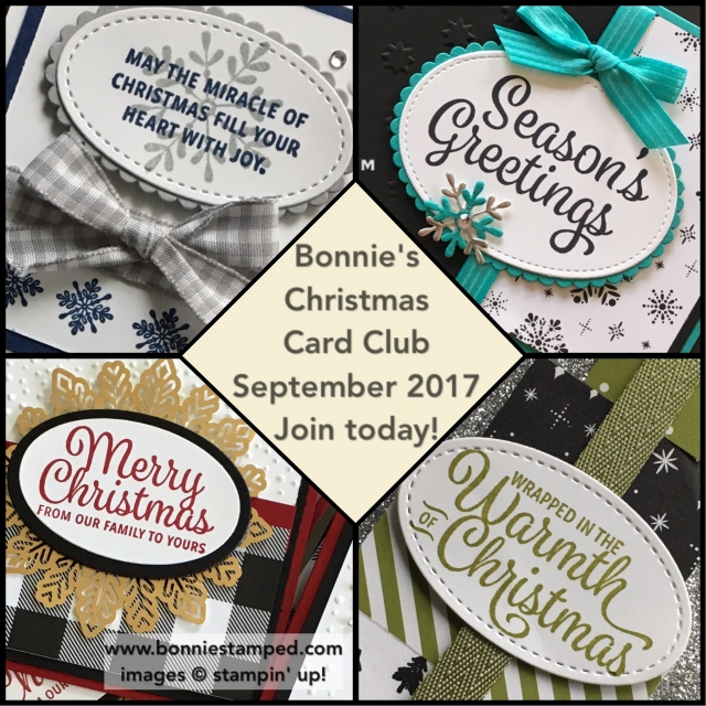 #christmascardclub #bonniestamped