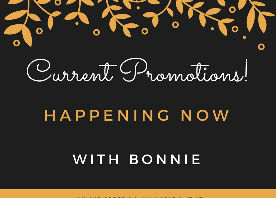 October 1st, new month, new promotions!